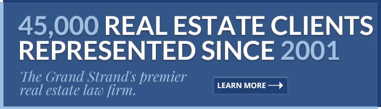 Real Estate Attorney Myrtle Beach Sc